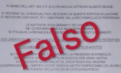 Attenzione alle truffe, volantino falso invita i non residenti a lasciare la casa in cui sono