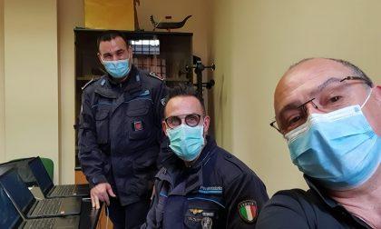 Dopo l'incontro con i detenuti, ecco gli 8 computer promessi dal Comune di Bergamo