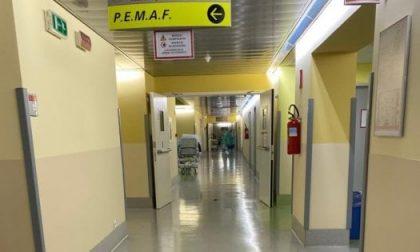 Ospedale Papa Giovanni, i corridoi del Pronto soccorso senza pazienti. È la prima volta