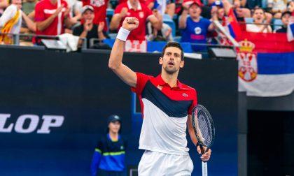 Novak Djokovic campione di solidarietà: donazione agli ospedali di Treviglio e Romano