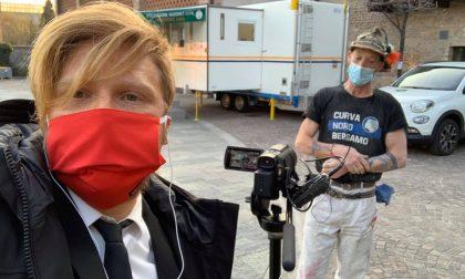 Un infiltrato del programma Le Iene tra i volontari all'ospedale degli Alpini alla Fiera