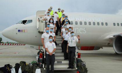 I medici norvegesi tornano a casa. Grazie per l'aiuto. Sono stati di supporto al Bolognini