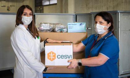 Cesvi dona alla sanità bergamasca 700 mila dispositivi di protezione e oltre 500 ventilatori