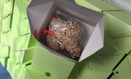 La Gelateria Oasi di Villongo dona all'Ats 75 colombe per il personale degli ospedali