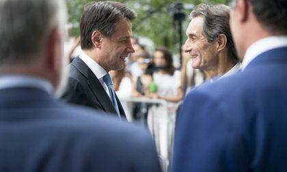 Fontana risponde al premier Conte sulla non imposizione della zona rossa in Val Seriana
