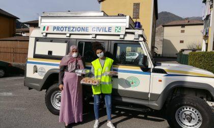 La comunità marocchina di Gandino ha donato dei dolci al personale dell'ospedale alla Fiera