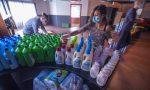 Superbergamo distribuisce kit solidali in aiuto delle persone in difficoltà economica