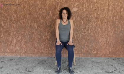 Mantenersi in forma con Valentina. Video-lezione di fitness 4: mobilità del tratto cervicale