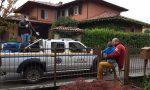 Blitz della protezione civile a Osio Sopra… per fare gli auguri al piccolo Ruben!