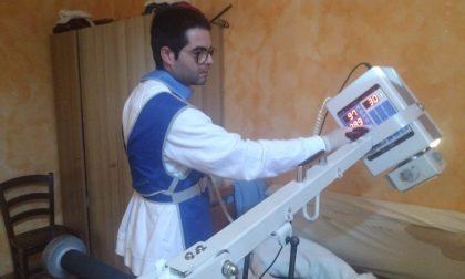 Da oggi Ats garantisce radiografie a domicilio