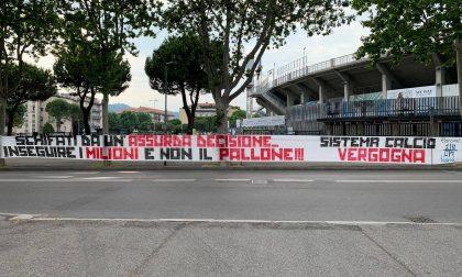 La Curva Nord contro la ripresa della Serie A: «Schifati da un'assurda decisione»