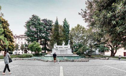 Ecco il nuovo volto che avranno il monumento al Donizetti, il Sentierone e il suo viale alberato