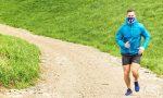 La mascherina non è obbligatoria nel running, ma bisogna essere da soli