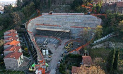 Italia Nostra, Legambiente e l'Associazione Città Alta e Colli: «Ripensate il futuro del parcheggio alla Fara»