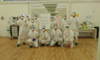 I militari russi impegnati all'ospedale in Fiera salutano Bergamo: ora torneranno a casa