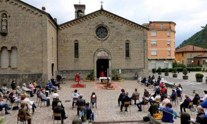 A Ponte Nossa per la Pentecoste una messa all'aperto in nove lingue