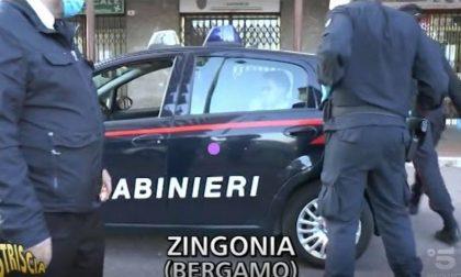 """""""Striscia la Notizia"""" denuncia il ritorno dei pusher a Zingonia, i Carabinieri li arrestano"""