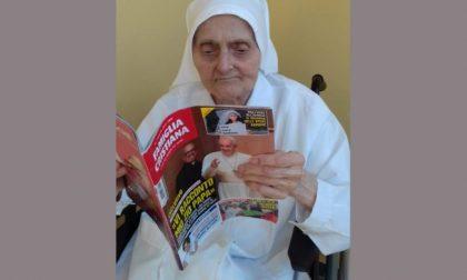 Suor Ambrogia Locatelli ha sconfitto il Coronavirus e ora festeggia i 101 anni di vita