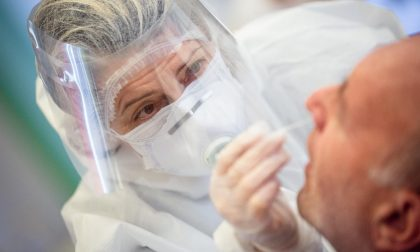 A Bergamo 28 casi in più. Ancora oltre quota 20mila il numero di tamponi in Lombardia
