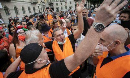Protestarono contro le misure anti-Covid, multa da 800 euro per il generale Pappalardo e nove gilet arancioni