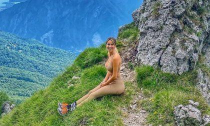 Montagne lecchesi sempre più amate dai vip: in vetta arriva Diletta Leotta