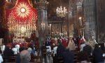 Preghiera e ricordo: a Gandino la Raggiera illumina il Corpus Domini