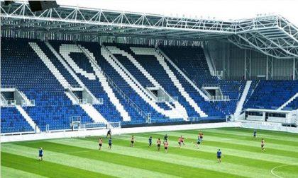 Atalanta di nuovo al Gewiss Stadium, le immagini della partitella in famiglia