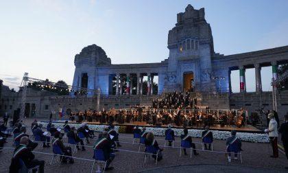 Video e foto dell'emozionante Requiem di Donizetti in memoria delle vittime del Covid