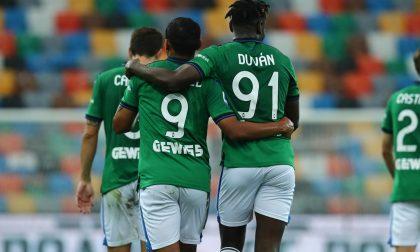 Per fortuna che c'è Muriel: entra, segna e porta l'Atalanta a vincere 3-2 sull'Udinese