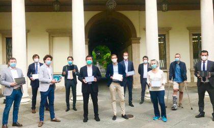 L'associazione MilleRespiri dona al Comune di Bergamo 110 tablet per la didattica a distanza