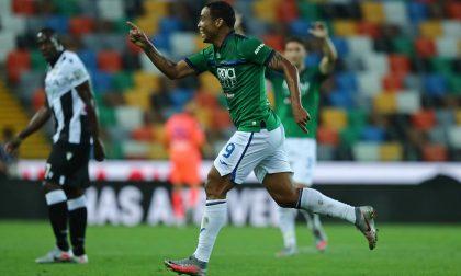 Finalmente, una punizione: Muriel ha segnato il terzo gol (su 97) da calcio piazzato