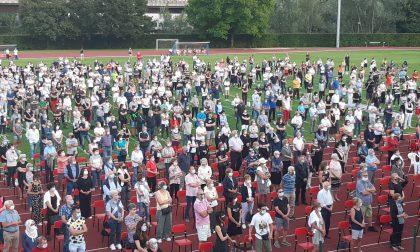 Il commovente discorso del sindaco di Nembro davanti a più di mille persone