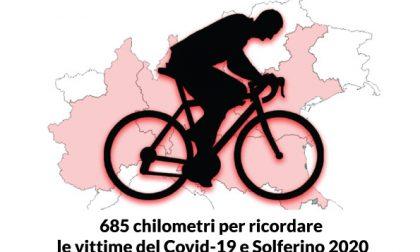 Fa tappa a Bergamo la pedalata dei ciclisti volontari per omaggiare la Croce Rossa