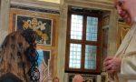 La carezza del Papa. Diana e Orlando del Bolognini raccontano l'incontro con Francesco