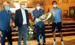 Il bellissimo gesto della Lazio: mazzo di fiori al cimitero di Bergamo per le vittime Covid