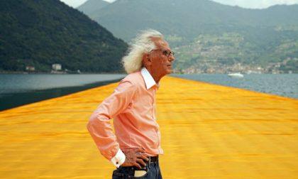 È morto Christo, l'artista della passerella sul lago d'Iseo