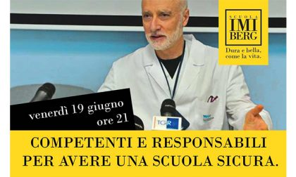 All'Imiberg incontro con Marco Rizzi, primario di malattie infettive del Papa Giovanni