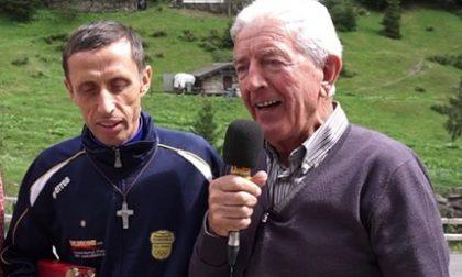 Atleti, montagne e il prete campione: a Mezzoldo il ricordo del sindaco Balicco