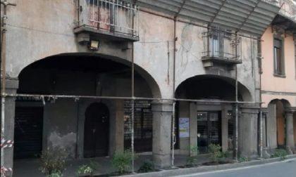Mezzo milione di euro per salvare gli antichi portici di Ponte San Pietro