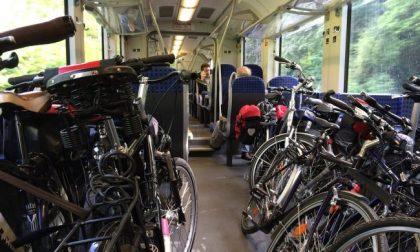 Trenord: stop alle bici a bordo dei treni