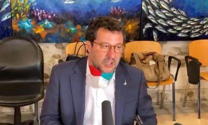 Salvini incontra gli imprenditori bergamaschi: «Lascio a Conte e ai ministri le sfilate romane»