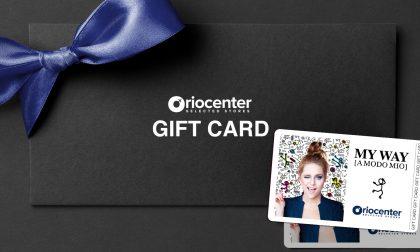 Oriocenter a chi spende duecento euro regala una gift card da cinquanta euro