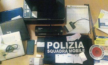 Ricercata e con una stamperia di documenti falsi a Zogno: in carcere una 49enne