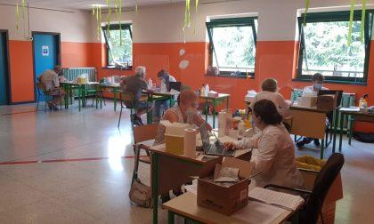 Via alla campagna di test e tamponi a Suisio voluta dal prof Galli, video e foto del primo giorno