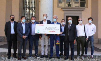 Da Conad 84 mila euro agli ospedali bergamaschi