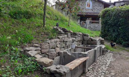Incredibile a San Pietro d'Orzio: dagli scavi riemerge l'antica fontana della contrada