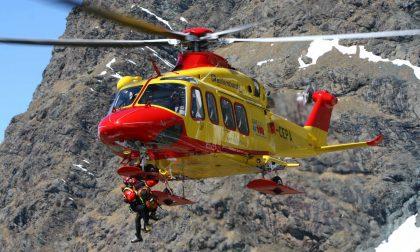 Cade in un dirupo al Lago Moro sopra Foppolo, grave un escursionista