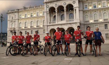 Da Nembro a Trieste in bicicletta: il viaggio della ripartenza vissuto dai ragazzi dell'oratorio