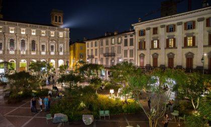 """Dal 4 settembre, Piazza Vecchia tornerà a """"vestirsi"""" di verde. Ecco come sarà quest'anno"""