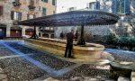 Il lavatoio di via Mario Lupo è tornato al suo antico splendore: le vasche si riempiono d'acqua